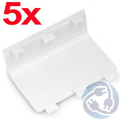 5X Replacement Battery Cover Door for Xbox One Wireless Controller - White