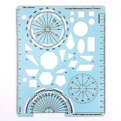 Everyday Mathematics Geometry Template Book Suppliment