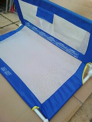 Tomy Baby Bed Guard, Folding, Blue With White Mesh