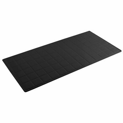 Bon Chef 9601 BLACK Sandstone Long Size Solid Tile Tray