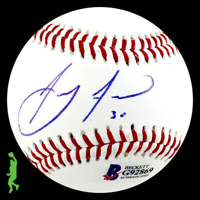 Anthony Alford Autographed Signed Rolb1 Baseball Ball Blue Jays Beckett Coa