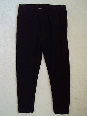 Girls Black Full  Leggings Age 4 years from TU
