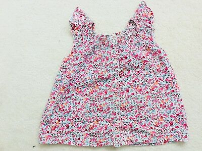 Girls Pink Mix Floral Sleeveless Blouse Age 5-6 Years from H&M