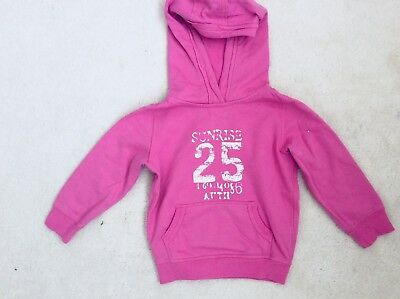 Girls Pink Knitwear with Hoodie From Next Age 3 years