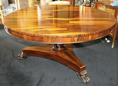 Fine Early 19th c. Rosewood Centre Table