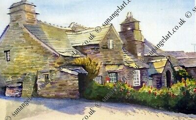 Linda Griffin Limited Edition Print Of 500, Tintagel  Cornwall