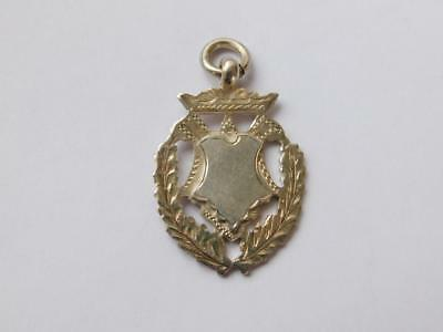 Vintage 925 Sterling Silver Watch Chain Fob