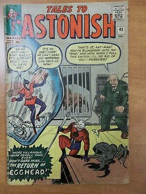 Tales To Astonish #45 Jul 1963, 2Nd App 2Nd Appearance Of Wasp