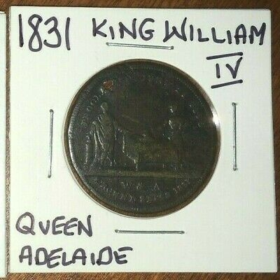 1831 King William IV/Queen Adelaide Coronation Medal