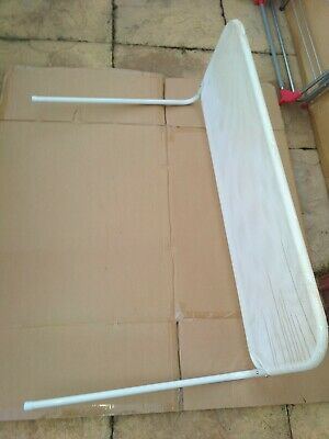 Baby Bed Guard, Folding, white With White Mesh