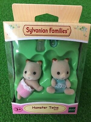 HAMSTER TWINS Sylvanian Families 5123 Epoch Calico Critters Small and cute