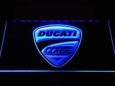 Ducati Corse motorcycle LED Neon Sign for Game Room,Bar,Man Cave-US Seller