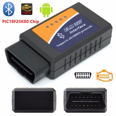 ELM327 V2.1 Bluetooth Interface OBDII OBD2 USB Diagnostic Auto Car Scanner Scan