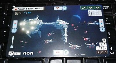 Star Wars Armada Spring 2015 Promo Nebulon-B Escort Frigate Card Alternate Art