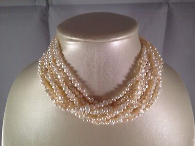 c461b7674bc2b ROSS SIMONS CULTURED Pearl Necklace - $39.00 | PicClick