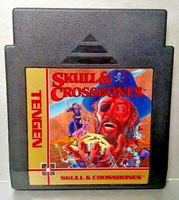 Skull & Crossbones Pirates  Nintendo NES Authentic Game Rare Tested Works Great
