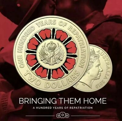 💥 2019 $2 Coin 💥 Bring Them Home ⚡*** UNC FROM MINT ROLL ⚡ NEW RELEASE.⭐dn067
