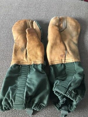 U.S. Military Army Mittens Cold Weather Trigger Finger M-1965 Gloves Med (SC)