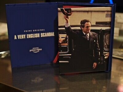 A VERY ENGLISH SCANDAL 2019 FYC Emmy DVD Complete Series (All 3 Parts) New