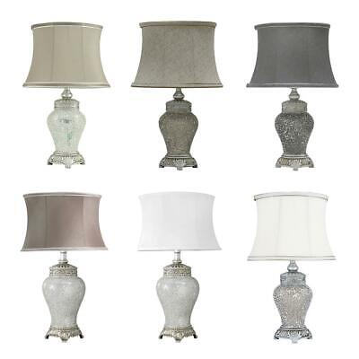 Sparkle Mosaic Antique Traditional Modern Regency Table Lamp in-line Switch