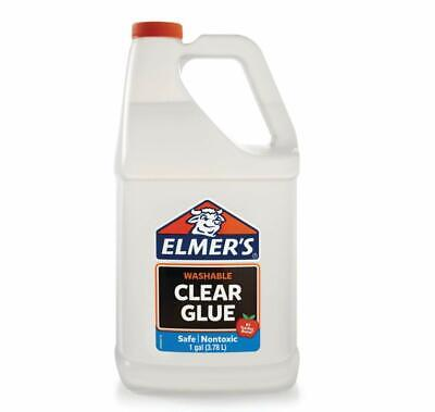 Elmers Liquid School Glue Washable Nontoxic For Slime Paper Wood Fabric Ceramics