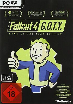 PC Spiel Fallout 4 - Game of the Year Edition GOTY DVD Versand NEUWARE