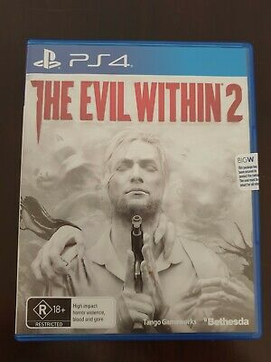 PS4 Game - THE EVIL WITHIN 2 - Brand New. Never been played. Sealed