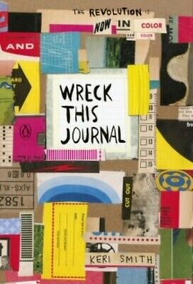 Keri Smith Wreck This Journal: Now in Colour