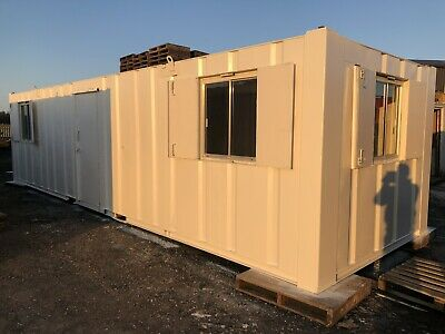 32′ x 10' Portable Building - Anti-Vandal Unit - Open Plan Welfare Office Cabin