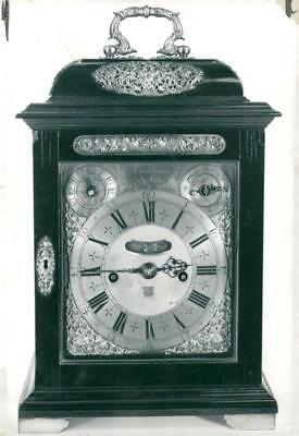 tompion ebony case bracket clock - Vintage photo