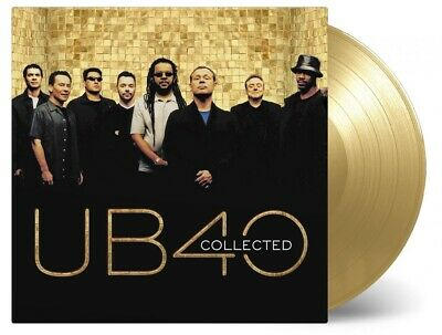 UB40: Collected 180g Gold Coloured Vinyl 2 x LP Record (Greatest Hits / Best Of)