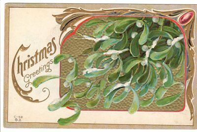 VINTAGE POSTCARD INTERNATIONAL Art Publishing 1913 Christmas