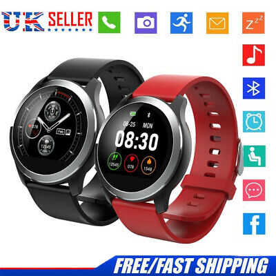 PPG+ECG Smart Watch Sport Tracker Heart Rate Steps Blood Pressure Monitor Camera