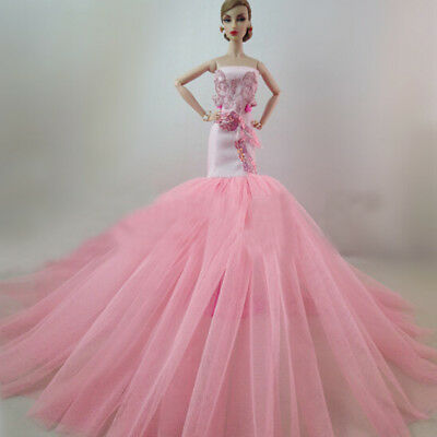 Handmade Elegant Doll Dress for Party Dress Clothes MD