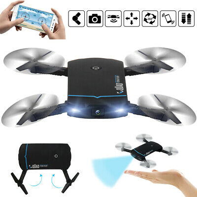 RC Drone x Pro With Camera Mini Foldable WIFI FPV Quadcopter Helicopters APP 🔥