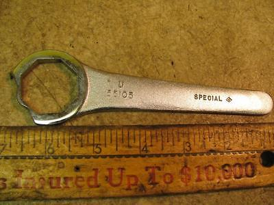 "55105 Universal Engineering 1-1/4"" 8 Point Collet Nut Wrench Machinists Tool"