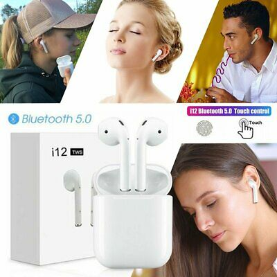 i10 i12 i11 TWS Wireless Bluetooth 5.0 Earbuds Earphone for Apple iphone AIRPODS