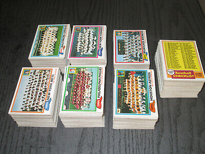 1981 Topps Baseball Card Starter Set VgEx-NM (708/726)