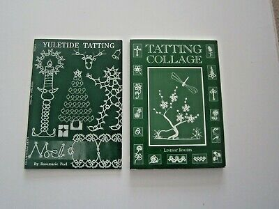 YULETIDE TATTING By Rosemarie Peel  Price inc: a free 85 page Tatting Collage