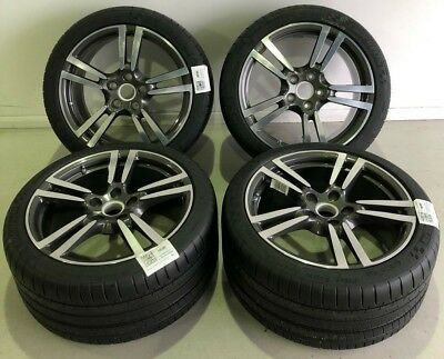 """Brand New Porsche Panamera Turbo Alloy Wheels 20"""" Inch with new Michelin tyres"""