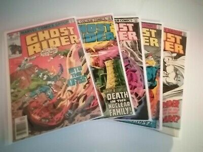GHOST RIDER - Vol 1 - Issues #39,40,44,45,56 (FN to VG)