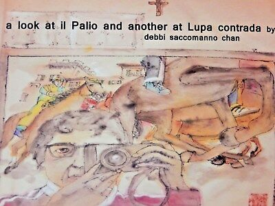 debbi saccomanno chan Picture Painting Book a look at II Pallo & Lupa contrada