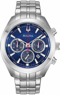 Bulova High Frequency Sport Chronograph Stainless Steel Mens Watch 96B285