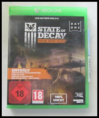 Xbox One - Spiel - State Of Decay - Fsk 18