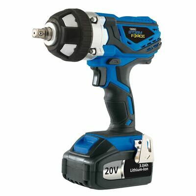 Draper 20V Cordless Impact Wrench with 2 Li-Ion Batteries 3.0Ah 82983