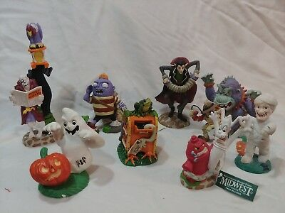 Midwest of Cannon Falls Creepy Hollow Mad Scientists Figures Set Brand New