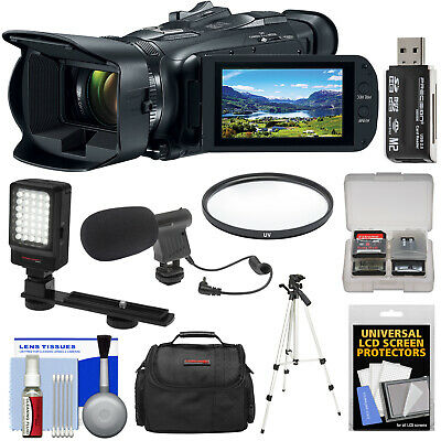 Canon Vixia HF G50 Wi-Fi 4K Ultra HD Video Camera Camcorder Bundle