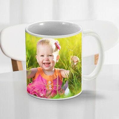 Personalised Mug/Cup Custom Printed Gift  Your Photo/Image/Picture/Text/Logo