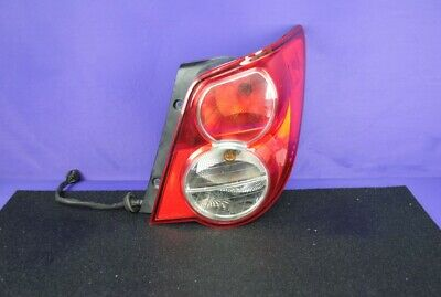 12-16 Chevy Sonic Sedan Ntbk Tail Light Rear Brake Lamp Passenger Right OEM