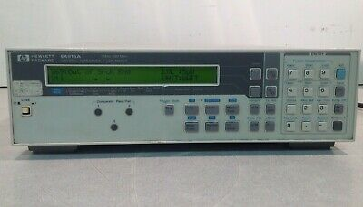 Hp E4916A Crystal Impedance/ Lcr Meter
